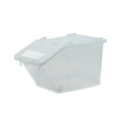 Recycling box - 45 l - TRANSPARANT