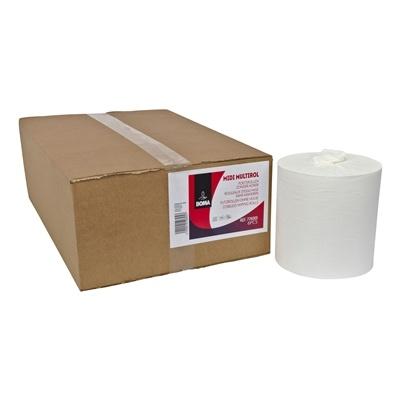 Midi Centerfeed Multirol - tissu pur - 1 pli - 280 m x 20 cm - BLANC - 6 rouleaux
