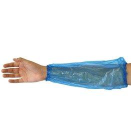 Protège bras - 20 µm - BLEU - 100 pièces