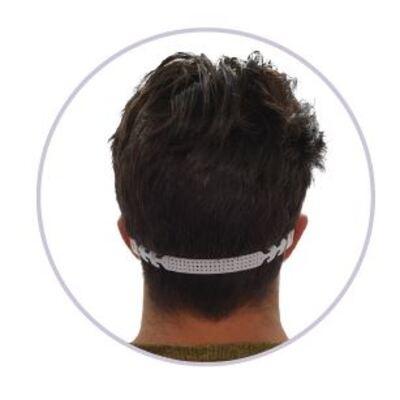 Wasbaar mondmasker BOMA - BLAUW - zakje van 7 stuks