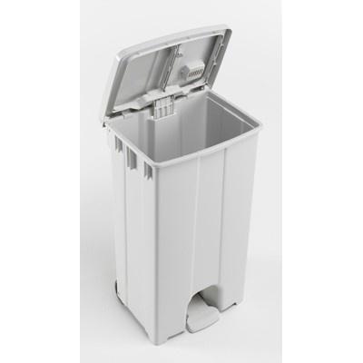 Bomabin Select Pedal - 90 l - WIT - deksel WIT