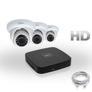 Dahua Compleet HD IP Pakket 3 Camera