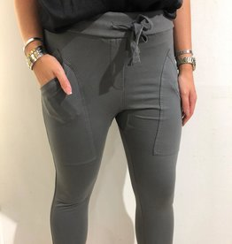 WENDY TRENDY Joggingbroek  Antraciet Grijs