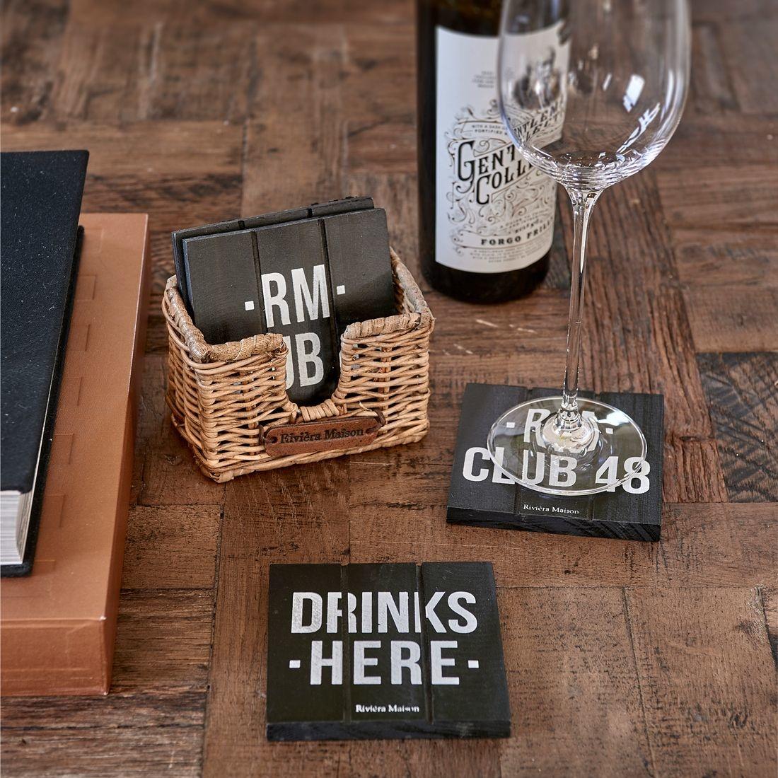 Rivièra-Maison Rivièra Maison RM Club 48 Coasters
