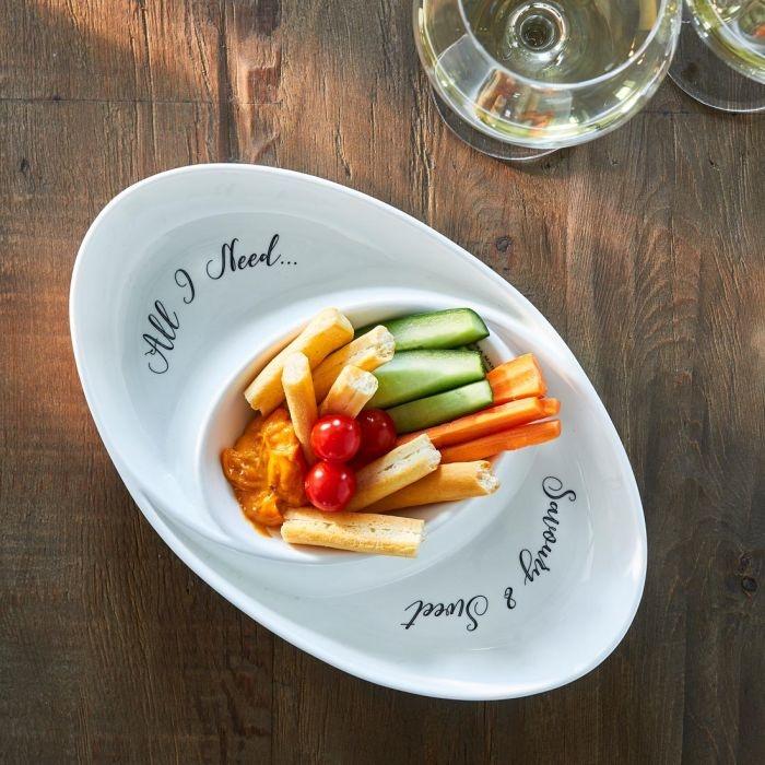 Rivièra-Maison Rivièra Maison Savoury & Sweet Serving Bowl