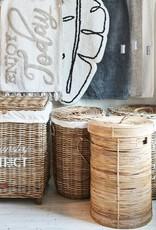 Rivièra-Maison Rivièra Maison Rustic Rattan Laundry District Basket