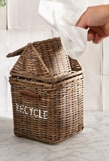 Rivièra-Maison Rivièra Maison Rustic Rattan Recycle Mini Bin