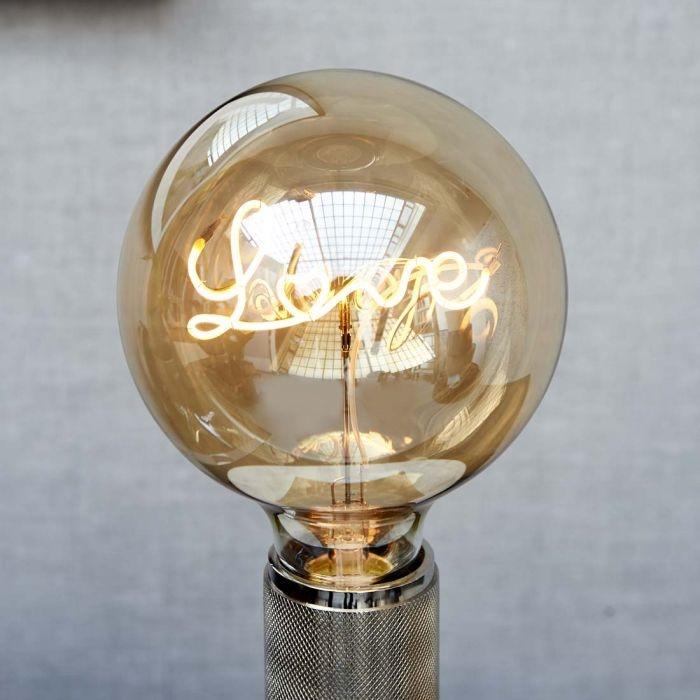 Rivièra-Maison Rivièra Maison Love Table Lamp LED Bulb