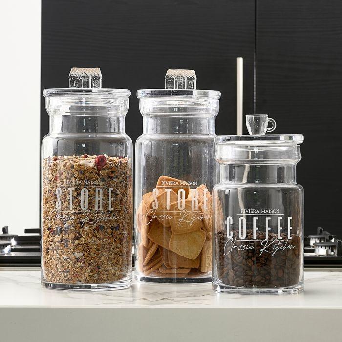Rivièra-Maison Rivièra Maison Classic Kitchen Storage Jar L