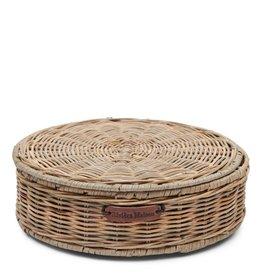 Rivièra-Maison RM Rustic Rattan Tea Box Round