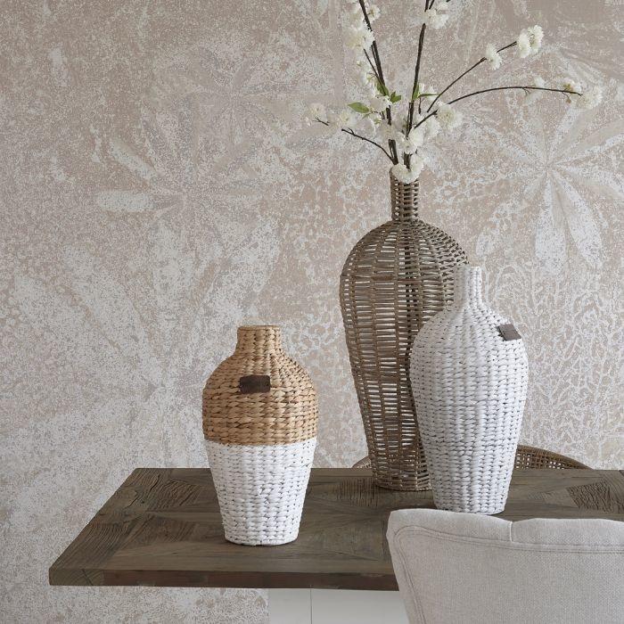Rivièra-Maison Rivièra Maison Two Tone Water Hyacinth Vase