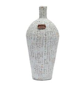 Rivièra-Maison RM Water Hyacinth Vase white