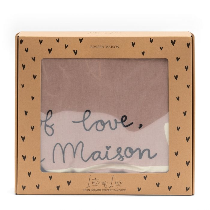 Rivièra-Maison Rivièra Maison Lots Of Love Iron Board Cover 124x38 479420