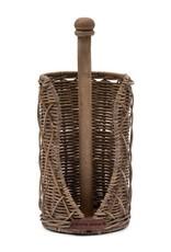 Rivièra-Maison Rivièra Maison Rustic Rattan Diamond Weave Kitchen Roll Holder 473540