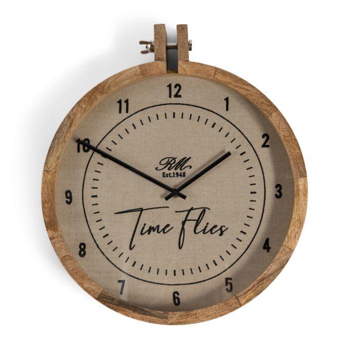 Rivièra-Maison Rivièra Maison Time Flies Wall Clock