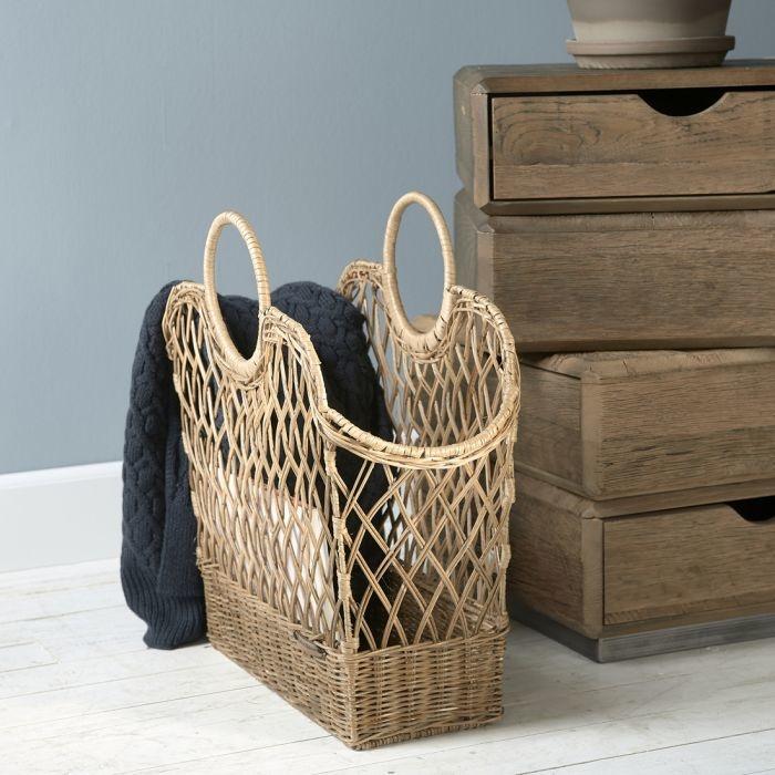 Rivièra-Maison Rivièra Maison Rustic Rattan Favourite Magazines Basket
