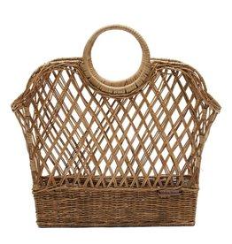 Rivièra-Maison RM Rustic Rattan Favourite Magazines Basket