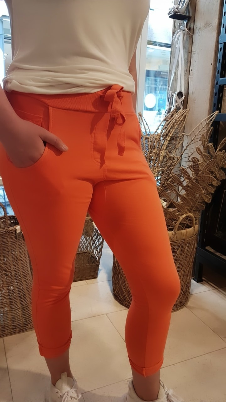 WENDY TRENDY WENDY TRENDY Joggingbroek   Oranje 66055/68025