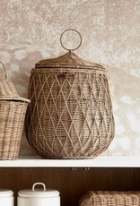 Rivièra-Maison Rivièra Maison Rustic Rattan Diamond Weave Storage Basket