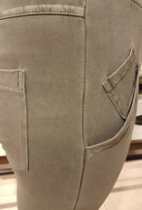 WENDY TRENDY WENDY TRENDY Träningsbyxor Stonewashed Khaki H0065-68139SW -2
