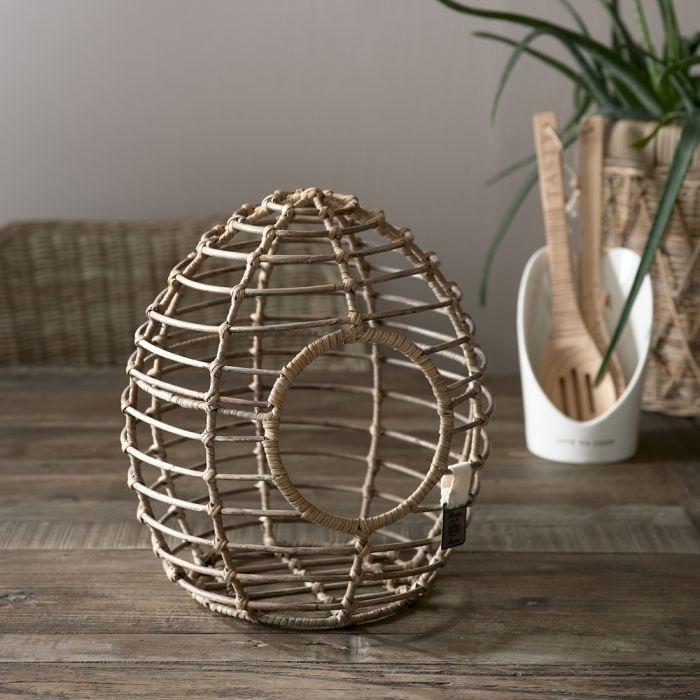Rivièra-Maison Rivièra Maison Rustic Rattan Fresh Eggs Holder