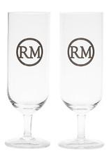 Rivièra-Maison Rivièra Maison  LOVE RM BEER GLASS 2 PIECES