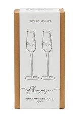 Rivièra-Maison Rivièra Maison Champagne Glass 2 pcs