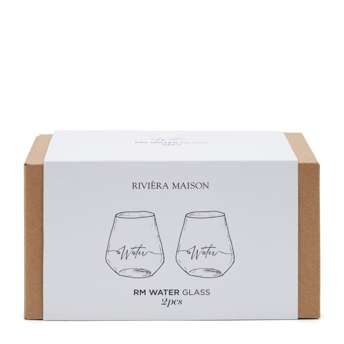Rivièra-Maison Rivièra Maison Water Glass 2 pcs