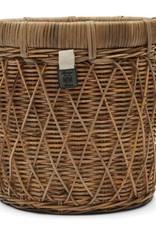 Rivièra-Maison Rivièra Maison Rustic Rattan Diamond Weave Planter M