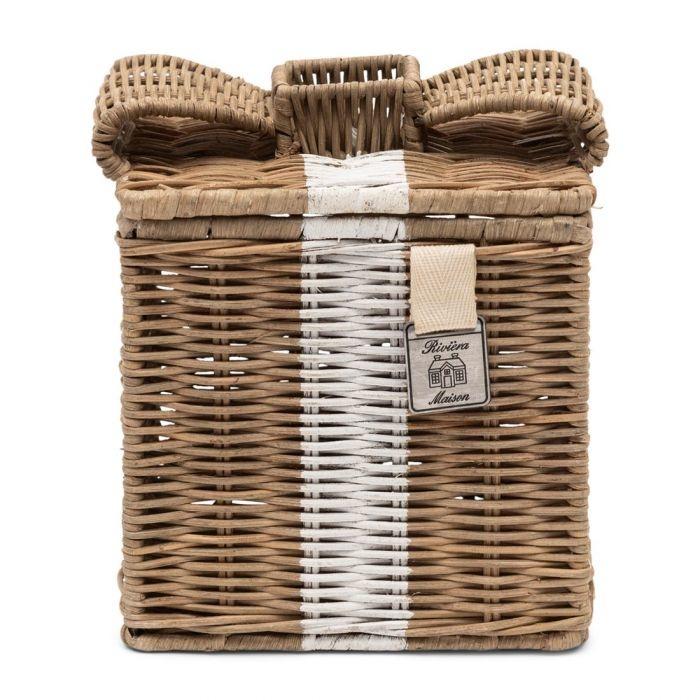 Rivièra-Maison Rivièra Maison Rustic Rattan Lovely Bow Tissue Box