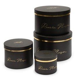Rivièra-Maison RM Luxurious Giftbox black Set of 4 pieces