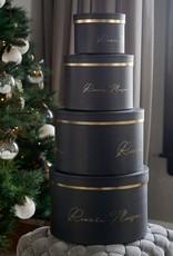 Rivièra-Maison Rivièra Maison Luxurious Giftbox black Set of 4 pieces
