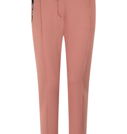 ZOSO 213Hope Sweat pant with techzippers winter rose