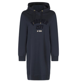 ZOSO 216Forever Comfy hooded sweat dress-navy