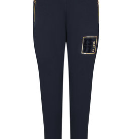 ZOSO 216Fay Sweat pant with print-0008-navy