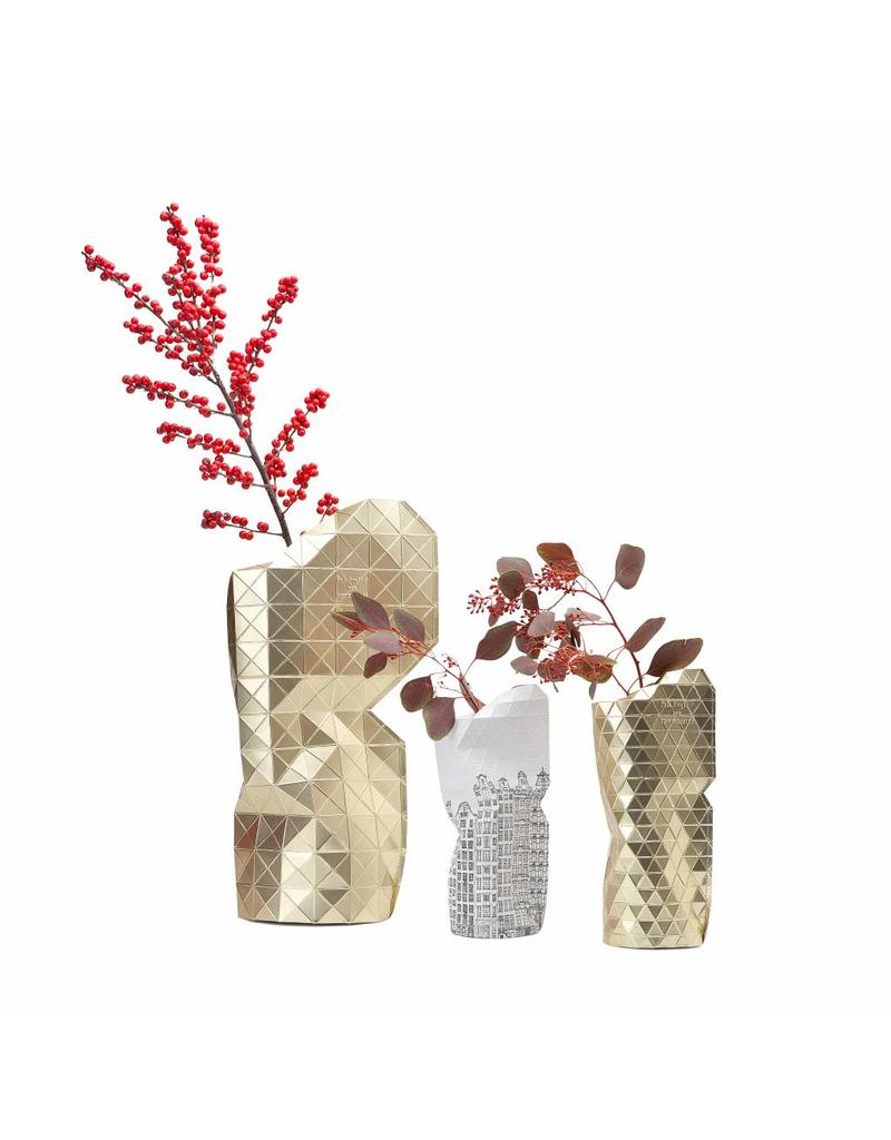Paper Vase Cover Canal House (small)