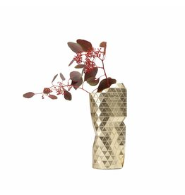 Paper Vase Cover Gold (small)