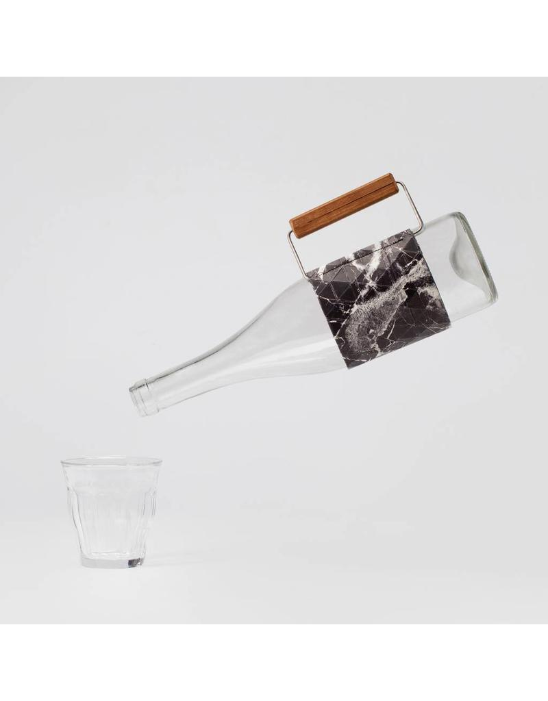 Bottle Grip Marble Black