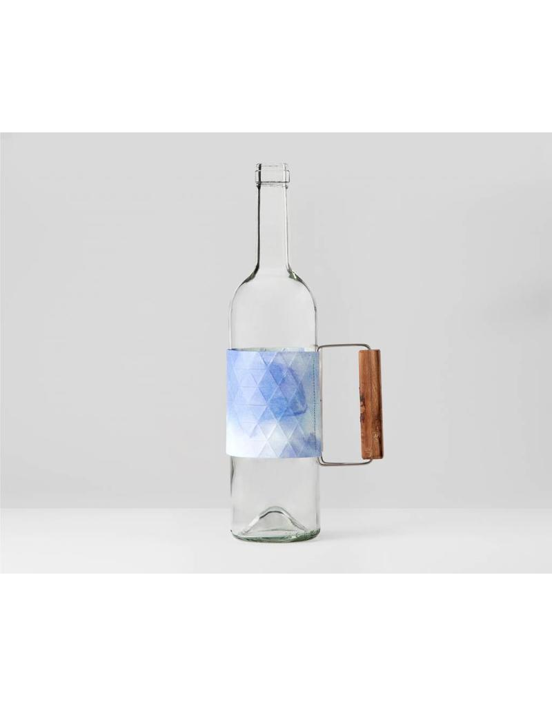 Bottle Grip Watercolor Blue