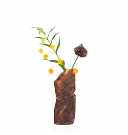 NEW: Paper Vase Cover  Natural Stone (small)