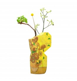 Paper Vase Cover Sunflowers