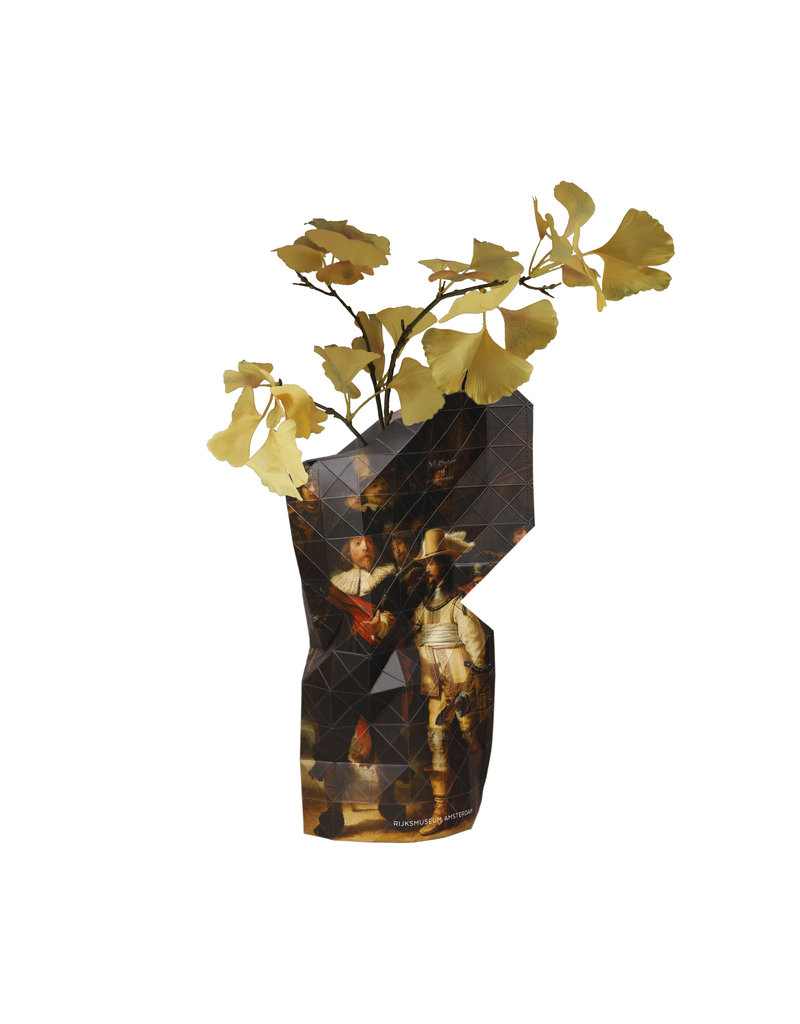 NEW: Paper Vase Cover The Nightwatch - Rembrandt