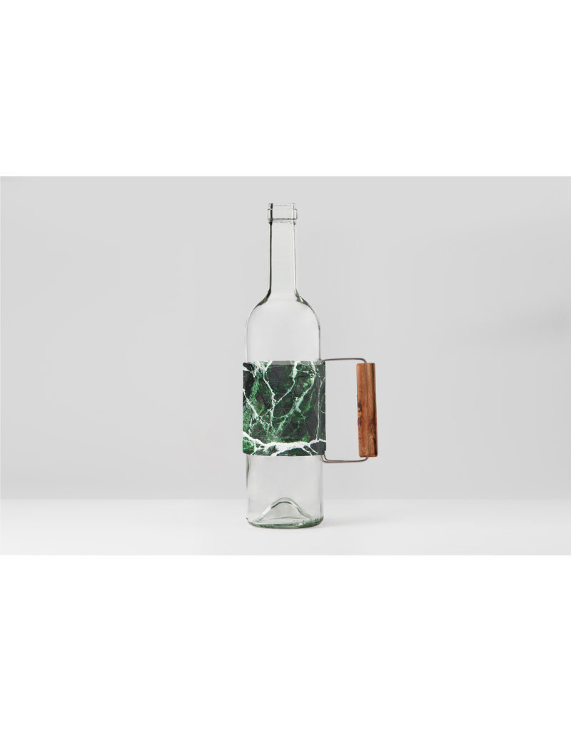 NEW: Bottle Grip Marble Green