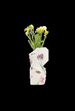 NEW: Paper Vase Cover Vintage Tulips - Marrel