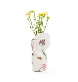 NEW: Paper Vase Cover Vintage Tulips - Marrel