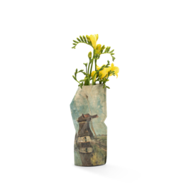 NEW: Paper Vase Cover Windmill - Gabriël (small)