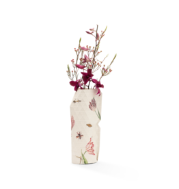 Paper Vase Cover Vintage Tulips - Marrel (small)