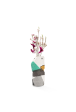 NEW: Paper Vase Cover Abstract Green (small)