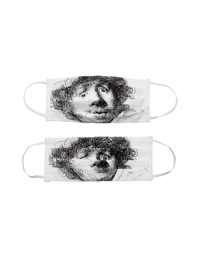 Face Masks - Rembrandt Self-Portrait 2x