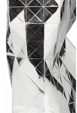 Paper Vase Cover Silver